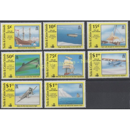 Stamps - Theme Christophe Colomb - Turks and Caicos ( Islands) - 1991 - Nb 918/921 - 946/949