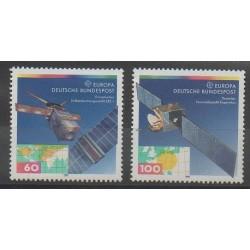 Allemagne - 1991 - No 1358/1359 - Télécommunications - Europa