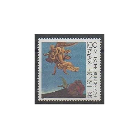 Allemagne - 1991 - No 1401 - Peinture