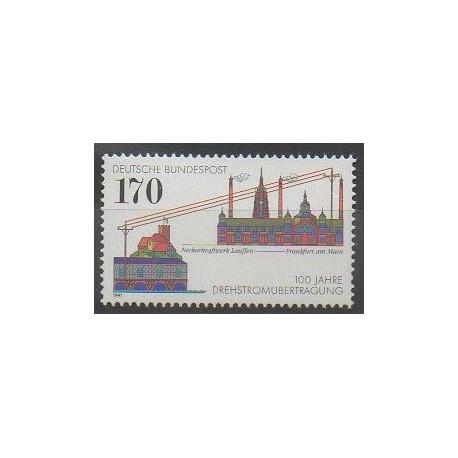 Allemagne - 1991 - No 1389 - Télécommunications