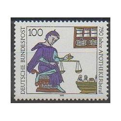 Allemagne - 1991 - No 1322 - Santé ou Croix-Rouge