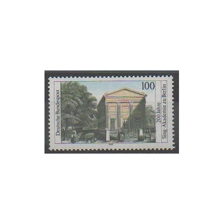 Allemagne - 1991 - No 1352 - Monuments