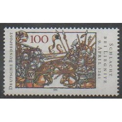 Germany - 1991 - Nb 1343 - Various Historics Themes