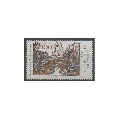 Allemagne - 1991 - No 1343 - Histoire