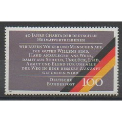 Allemagne occidentale (RFA) - 1990 - No 1302 - Histoire