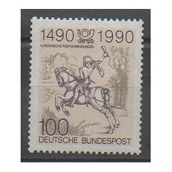 West Germany (FRG) - 1990 - Nb 1277 - Horses