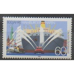West Germany (FRG) - 1989 - Nb 1251 - Boats