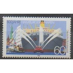 West Germany (FRG) - 1989 - Nb 1251 - Boats