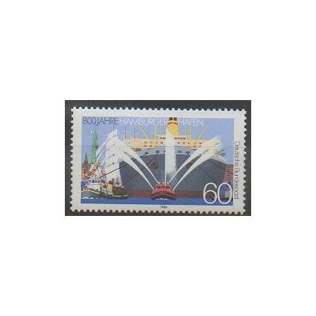 Allemagne occidentale (RFA) - 1989 - No 1251 - Navigation
