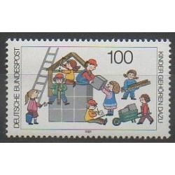 West Germany (FRG) - 1989 - Nb 1267 - Childhood
