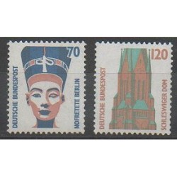West Germany (FRG) - 1988 - Nb 1206/1207