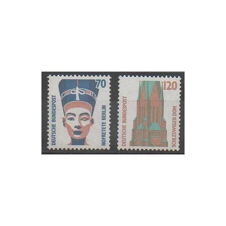 Allemagne occidentale (RFA) - 1988 - No 1206/1207