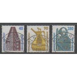 Allemagne occidentale (RFA) - 1988 - No 1211/1213 - Oblitéré