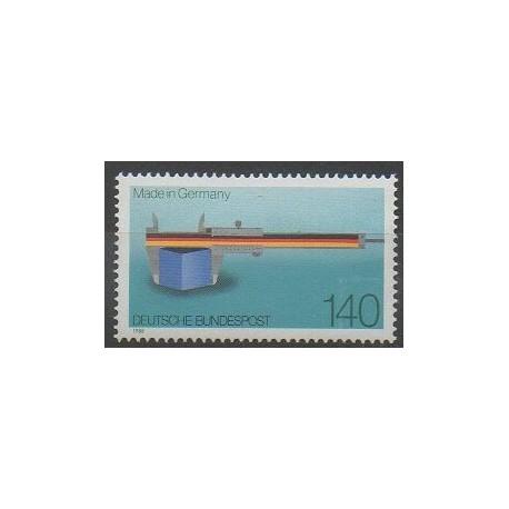 Allemagne occidentale (RFA) - 1988 - No 1210 - Sciences et Techniques