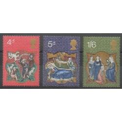 Grande-Bretagne - 1970 - No 602/604 - Noël