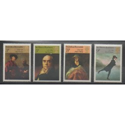 Grande-Bretagne - 1973 - No 687/690 - Peinture