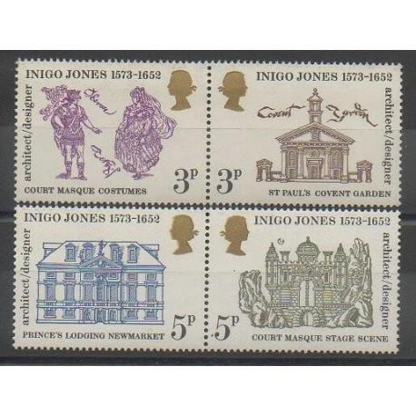 Grande-Bretagne - 1973 - No 691/694 - Monuments