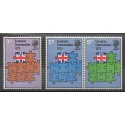 Grande-Bretagne - 1973 - No 675/677 - Europe