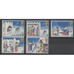 Grande-Bretagne - 1973 - No 702/707 - Noël