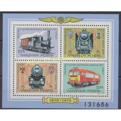 Hongrie - 1979 - No BF 143 - Trains