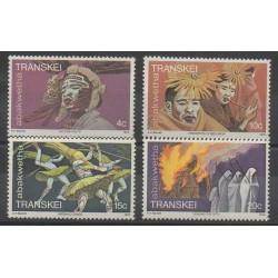 Afrique du Sud - Transkei - 1978 - No 48/51 - Masques ou carnaval