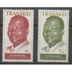 Afrique du Sud - Transkei - 1979 - No 52/53 - Célébrités