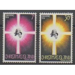 Christmas (Island) - 1974 - Nb 61/62 - Christmas