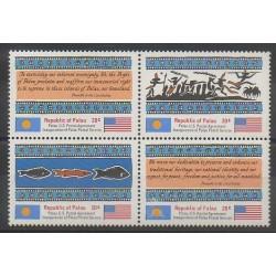 Palau - 1983 - No 1/4 - Service postal