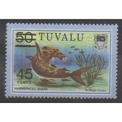 Tuvalu - 1981 - Nb 147 - Sea animals