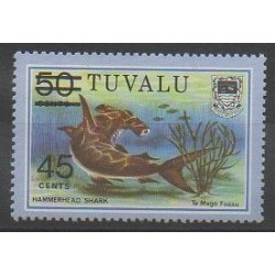Tuvalu - 1981 - No 147 - Animaux marins