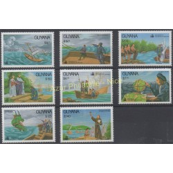 Guyana - 1991 - No 2619/2626 - Christophe Colomb