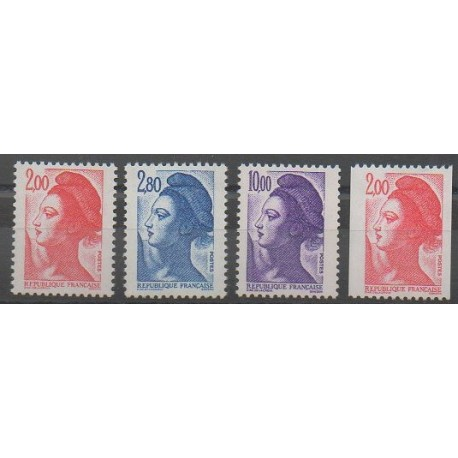 France - Poste - 1983 - No 2274/2277
