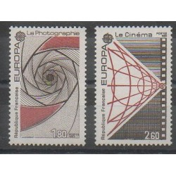 France - Poste - 1983 - Nb 2270/2271 - Cinema - Science - Europa