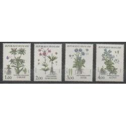 France - Poste - 1983 - No 2266/2269 - Fleurs