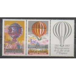France - Poste - 1983 - No P2262A - Ballons - Dirigeables