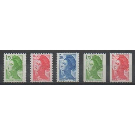 France - Poste - 1984 - No 2318/2322