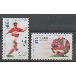 Turquie - 1996 - No 2823/2824 - Football