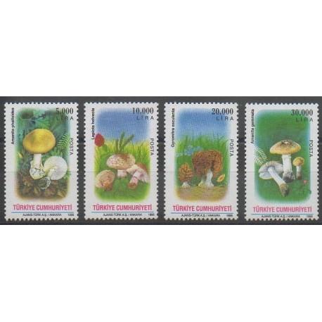 Turquie - 1995 - No 2811/2814 - Champignons