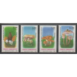 Turquie - 1994 - No 2780/2783 - Champignons