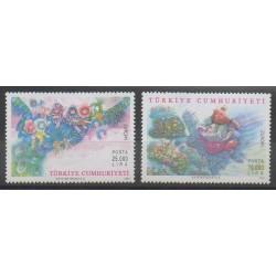 Turquie - 1997 - No 2846/2847 - Littérature - Europa