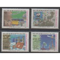 Turquie - 1990 - No 2658/2661 - Poste