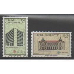 Turquie - 1990 - No 2634/2635 - Poste - Europa