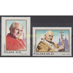 Pologne - 1983 - No 2681/2682 - Papauté