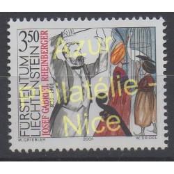 Liechtenstein - 2001 - No 1215 - Musique