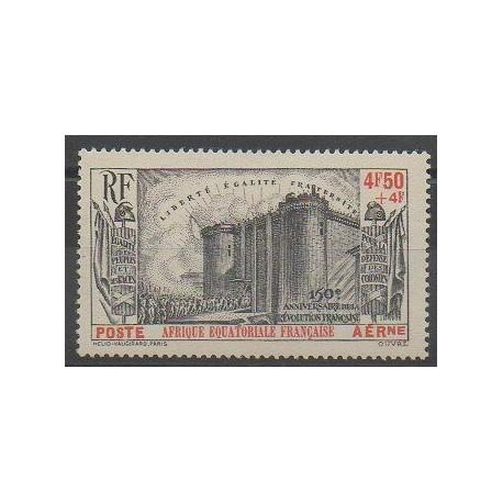Afrique Equatoriale Française - 1939 - No PA9