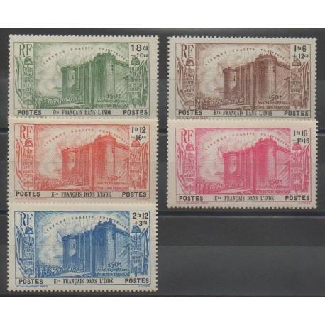 Inde - 1939 - No 118/122