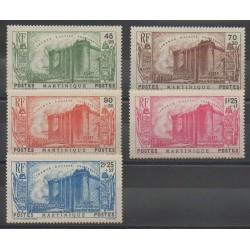 Martinique - 1939 - No 170/174