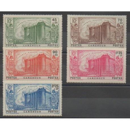 Cameroun - 1939 - No 192/196