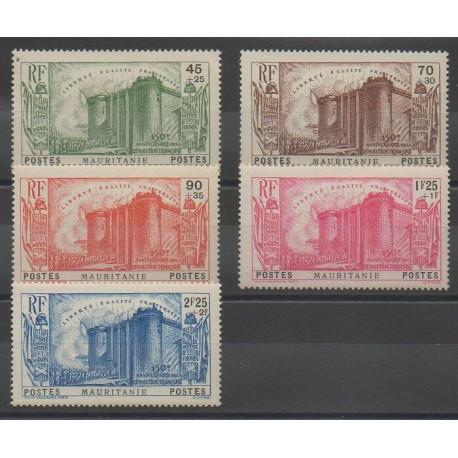 Mauritanie - 1939 - No 100/104