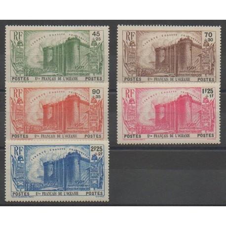 Océanie - 1939 - No 130/134 - Neuf avec charnière